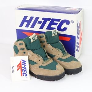 Vintage New Hi Tec Mens Teton Hiking Boots Beige